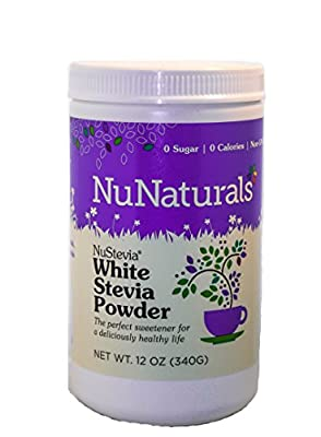 NuStevia White Stevia Powder 340 Grams by Nu Naturals