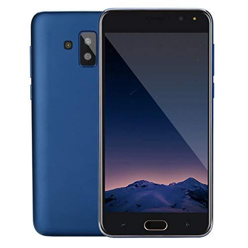 TianranRT Handy Ohne Vertrag, 5.0 Zoll Doppel HD Kamera Smartphone Android 512 + 4G GPS 3G Anruf Handy (Blau)