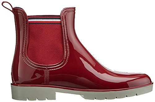 Tommy Hilfiger O1285laya 1r, Wellingtons boots femme Rouge (Biking Red)