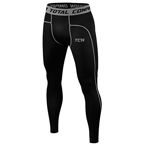 TCA Pro Performance - Armour Base Layer - Thermo-Kompressions-Leggings/Tights - Herren/Jungen - Black Stealth - 10 Jahre