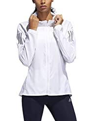 adidas Own The Run JKT Jacket, Mujer, White, M