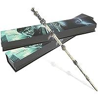 Harry Potter baguette magique en Résine Cosplay à Boîte jouet cadeau Dumbledore