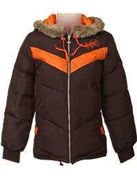 Adidas Originals Femme Sport Padded Veste d'hiver, Marron