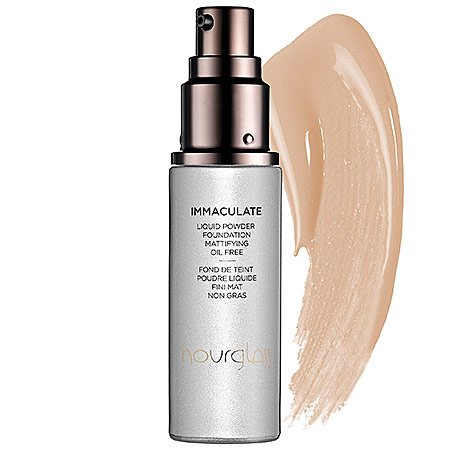 Hourglass Immaculate Liquid Powder Foundation Mattifying Oil Free Golden 1 oz by Hourglass