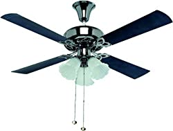 Crompton Uranus 1200mm 72-Watt Ceiling Fan (Black)
