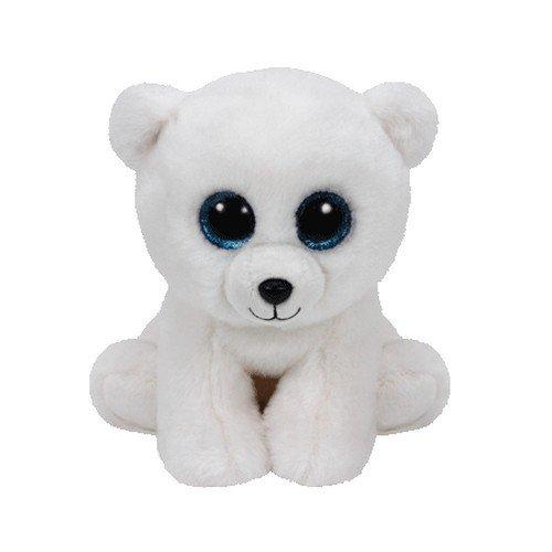 Ty- arctic disney peluche orso, colore bianco, 42108