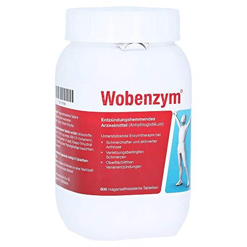 Wobenzym, 800 St. Tabletten - Bromelain 90 Tabletten
