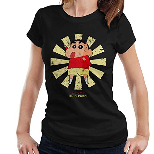 Crayon Shin Chan Retro Japanese Women's T-Shirt