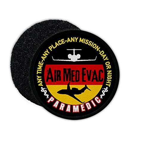 Copytec Patch Air MEd Evac Paramedic Auslandsrückholung Arzt Flugzeug Jet SAR #25480 (Sar-patch Klett)