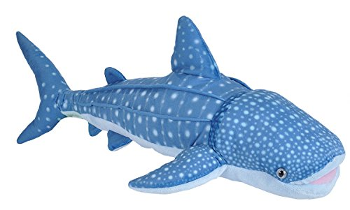 Wild Republic 21472Whale Shark, morbido peluche, regali per bambini, 66cm, colore: Blu