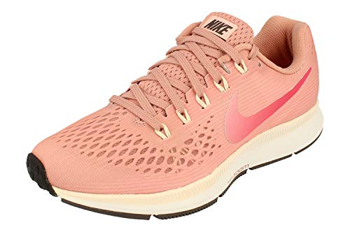 Nike Damen Air Zoom Pegasus 34 Running Trainers 880560 Sneakers Schuhe (UK 6 US 8.5 EU 40, Rust pink Tropical pink 606) - Air Zoom Basketball