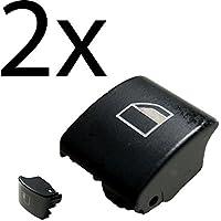 Autoparts 2x Reemplazo botones ventanilla derecha e izquierda