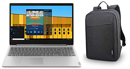 Lenovo Ideapad S145 AMD A6-9225 15.6-inch HD Thin and Light Laptop ( 4GB RAM / 1TB HDD / Windows 10 Home / Office Home and Student 2019 / Grey / 1.85kg ) & B210 Bag Combo