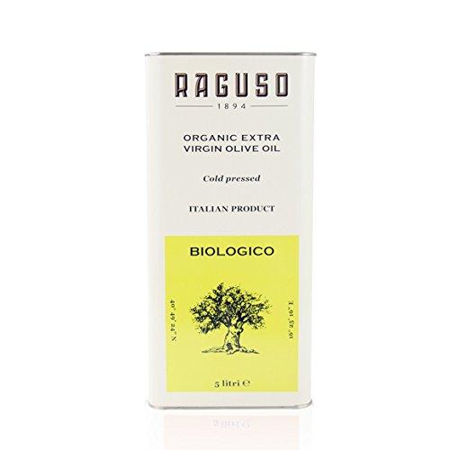 Olio extravergine di oliva biologico pugliese evo lattina da 5 lt
