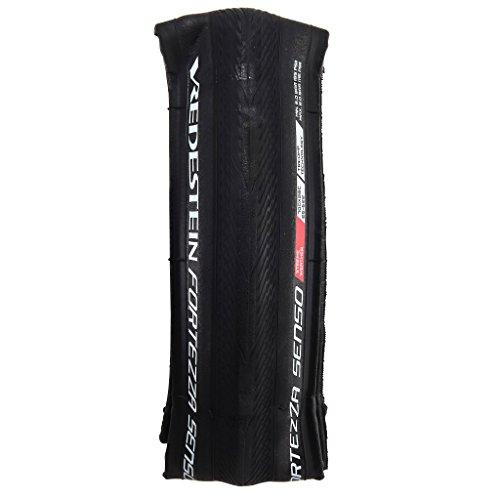 Vredestein Fortezza Senso Xtreme neumáticos de Bicicleta Unisex, Negro