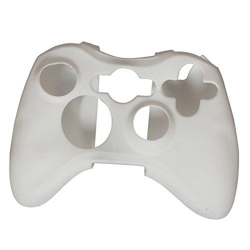 eJiasu reemplazo de luz silicio protector piel caso cubierta para xbox360 controlador (Mezcla del color)