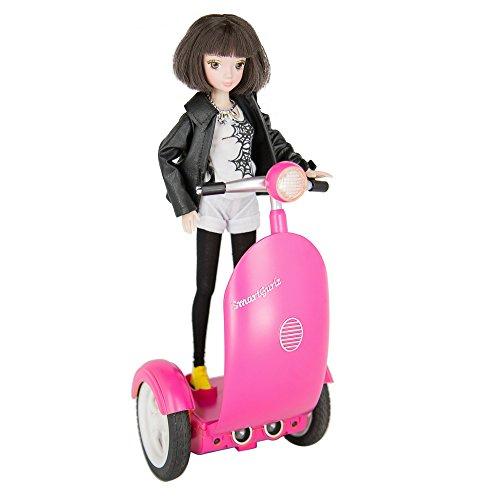 Programacin-de-robot-para-chica-ideal-para-grupos-de-edad-de-6-a-12-programable-Modo-de-scooter-con-muecas-actualizados-Aplicacin-en-iPad-Tablet-Smartphone