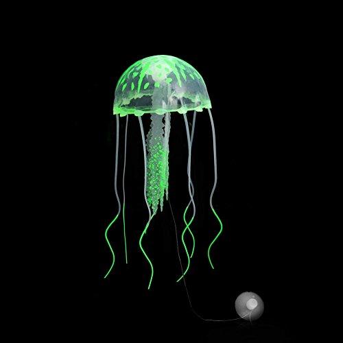 100 nuevo y de alta calidad  Decoración ideal para la pecera o acuario.  increíblemente detallada imitación medusas flotantes  Se mueve por corriente de agua en tanque.  Inofensivo para todos los peces.  Para agua dulce y salada.  Se conecta con una ...
