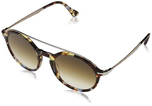 Persol Herren 3172 Sonnenbrille, Braun (Havana/Azure Brown), 51
