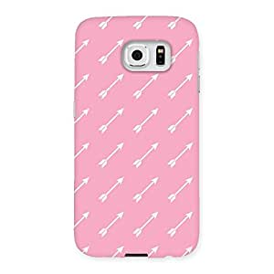 Special Pink And Arrow Multicolor Back Case Cover for Samsung Galaxy S6