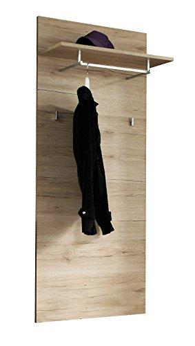 Avanti trendstore - genova - pannello guardaroba in laminato di quercia san remo chiara, dimensioni: lap 65x154x26 cm