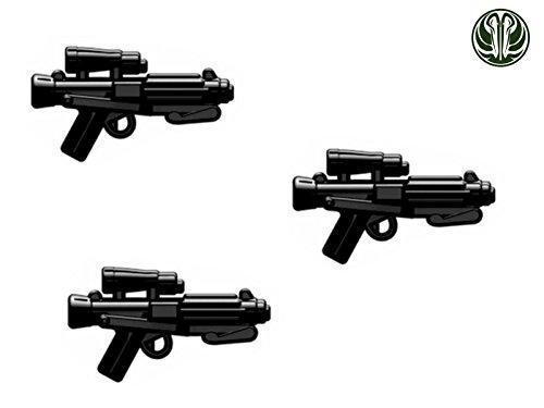 biner custom Waffen für Lego Star Wars Figuren -schwarz- (Star Wars Spielzeug Waffen)