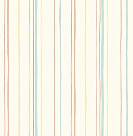 Decorline Carousel Mini Stripe Wallpaper, Multi-Colour
