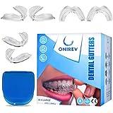 [6 en 1]Férula dental anti bruxismo - dispositivo profesional - Termosensible - nocturno - tratamiento ATM - evita el rechina
