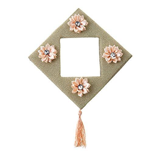 XXAICW Diamond Flower Mit Spike Schalter Ärmel Kreative Steckdose Protection Suite Wohnzimmerwand Switch Pack Gold Innerer Durchmesser 9 * 9 Cm