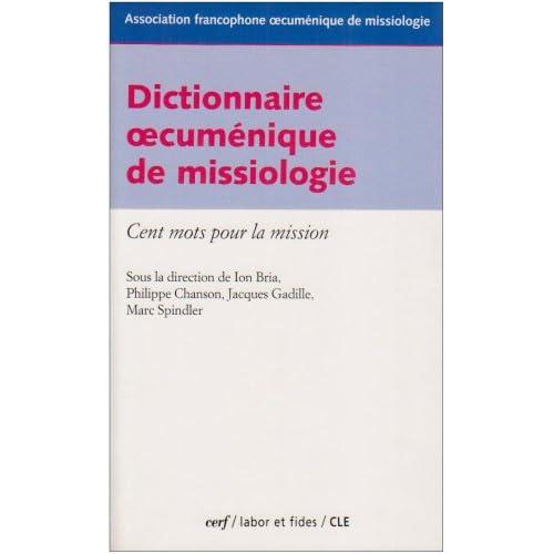 Dictionnaire œcuménique de missiologie