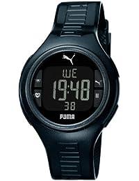 Puma Time Herren-Armbanduhr XL Pulse Metallic Digital Quarz Silikon PU910541006
