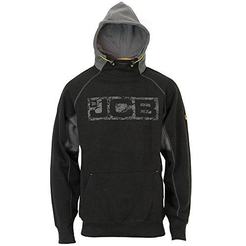 Mens JCB Horton Hooded Sweatshirt Hoody Hoodie Official