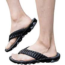 b18f456741d Cebbay Zapatos para Hombre Sandalias con Punta Abierta Unisex Adulto Aire  Libre y Deporte Sandalias y