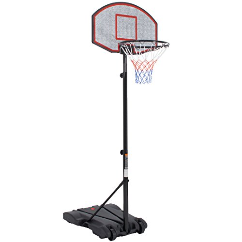 Ultrasport Outdoor - Canasta de baloncesto, color negro