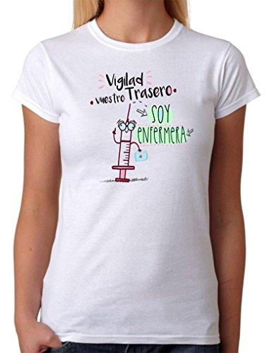 Camiseta Enfermera. Vigilad vuestro...