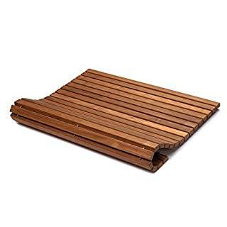 asinox tek4h990 Platform Brown Wood 76 x 76 x 2.5 cm