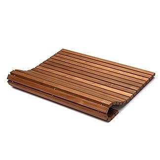 41dRgMxAb L. SS324  - AsinoX TEK4H - Tarima de ducha y baño flexible, madera de teca