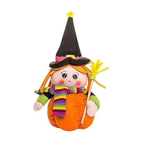 Spielzeug, Frashing Fröhliches Halloween Dekoration!!! Plüsch Kürbis Mädchen Puppen Kinder Spielzeug Halloween Geburtstag Geschenk Hausdekor (Bagger Kostüm Diy)
