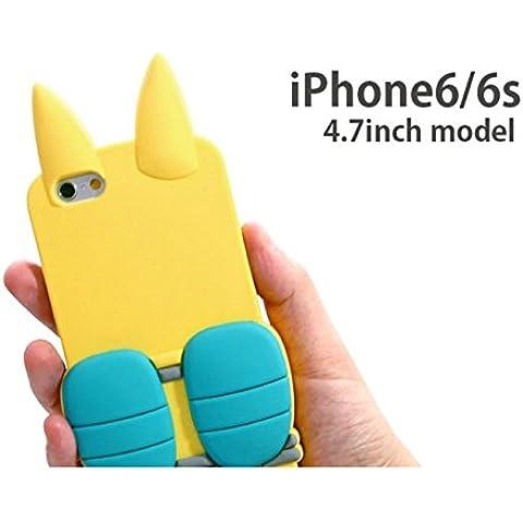Bandai yokai Reloj iPhone6Funda Die Cut Silicon Chaqueta EE. UU. pyon yw-19a