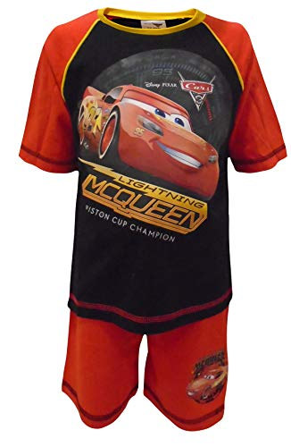 Disney Cars Boys Shortie Style Schlafanzug 4-5 Jahre (Pyjamas Lightning Mcqueen)