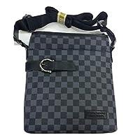 "Crossbody Bag 10"" - Black and Grey"