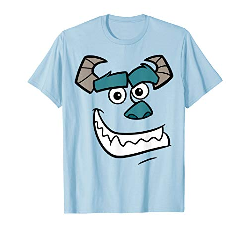 Disney Pixar Monsters Inc Sulley Face Costume T-Shirt