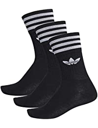 adidas Solid Crew Socken, 3 Paar