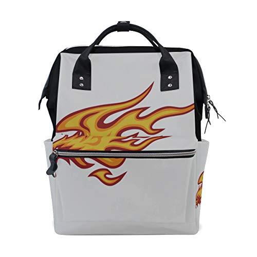 Phoenix Flying High Large Capacity Wickeltaschen Mummy Rucksack Multi Funktionen Wickeltasche Tote Handtasche Für Kinder Babypflege Reise Täglich Frauen -