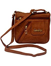 URBAN INTERIA Latest Beautiful Stylish Cross Body Bag For Girl's And Women's In Multi Colours Option