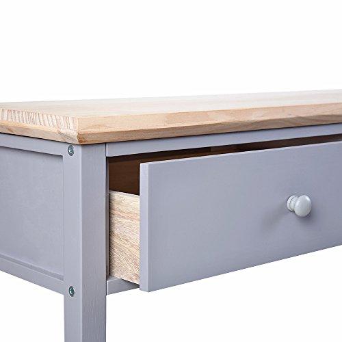 Tuff Concepts consolle da cucina sala da tavolo con 2 cassetti e ...