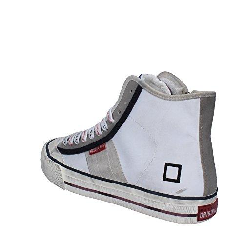 D.A.T.E. (DATE) Sneakers Donna Pelle Camoscio Bianco