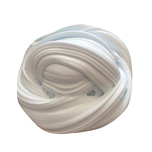 Preisvergleich Produktbild FEITONG Floam Slime Duft Stress Relief Mud Toys Kinderknete Keine Borax Kinder Spielzeug Schlamm Spielzeug (60ml, Hellblau)