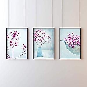 3er Printset Kunst Fotografie Frühling Format A4 & A5