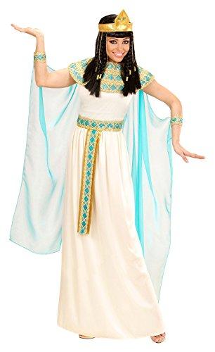 Widmann 49423adultos Disfraz Cleopatra, vestido con cinturón, pulseras, cinta y capa